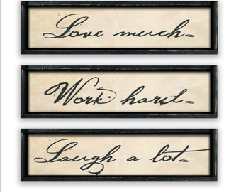 Inspirational wooden signs personalized wedding gifts office Inspirational quotes. inspirational art family signs custom signs family gifts