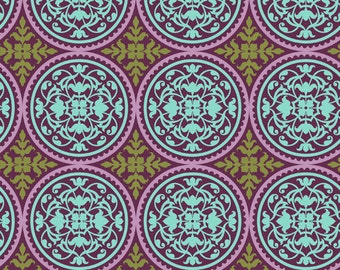 True Colors, Scrollwork in Lilac by Joel Dewberry for Free Spirit Fabrics  4074