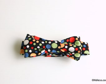 Bow tie for baby boy, hipster baby duds, retro styled baby