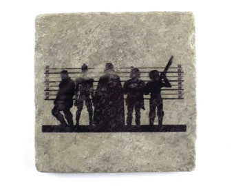 Star Wars: Dark Side Supects Suspects Tumbled Marble Tile Drink Coaster