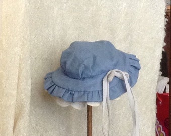 Vintage Country Girl Doll Hat