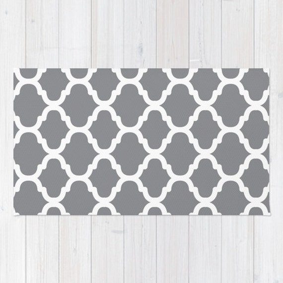moroccan pattern area rug grey and white modern area rug
