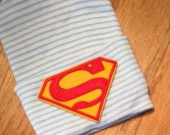 SUPERMAN Newborn Hospital Hat! 1st Keepsake! 1st Hat! Newborn Hospital Hat! Great Gift! Super Cute!