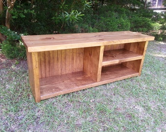 Mudroom Bench With Shoe Storage And Boot Cubby, Storage Bench, Mudroom  Storage, Wood