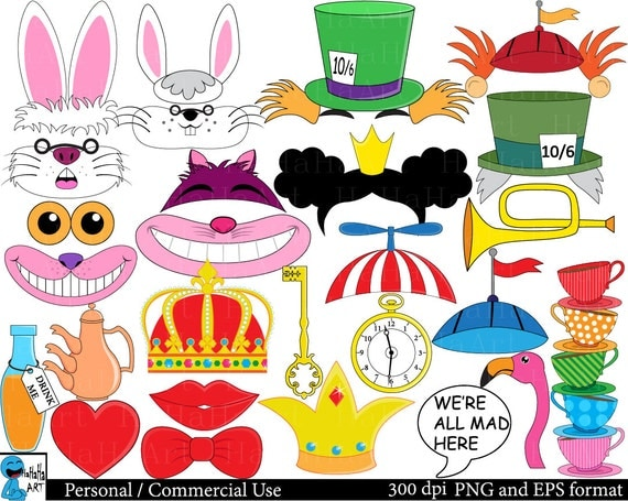 mad hatter tea party clip art - photo #11