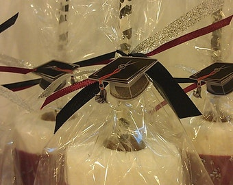 Graduation Jumbo Marshmallow Pops - Customize to your colors