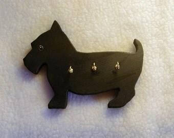 Scotty Dog Leash/Key Holder