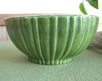 Green Haeger Planter, Florist Ware #4020 Made in the USA
