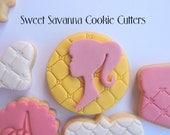 Girl Silhouette Custom Cookie Cutters