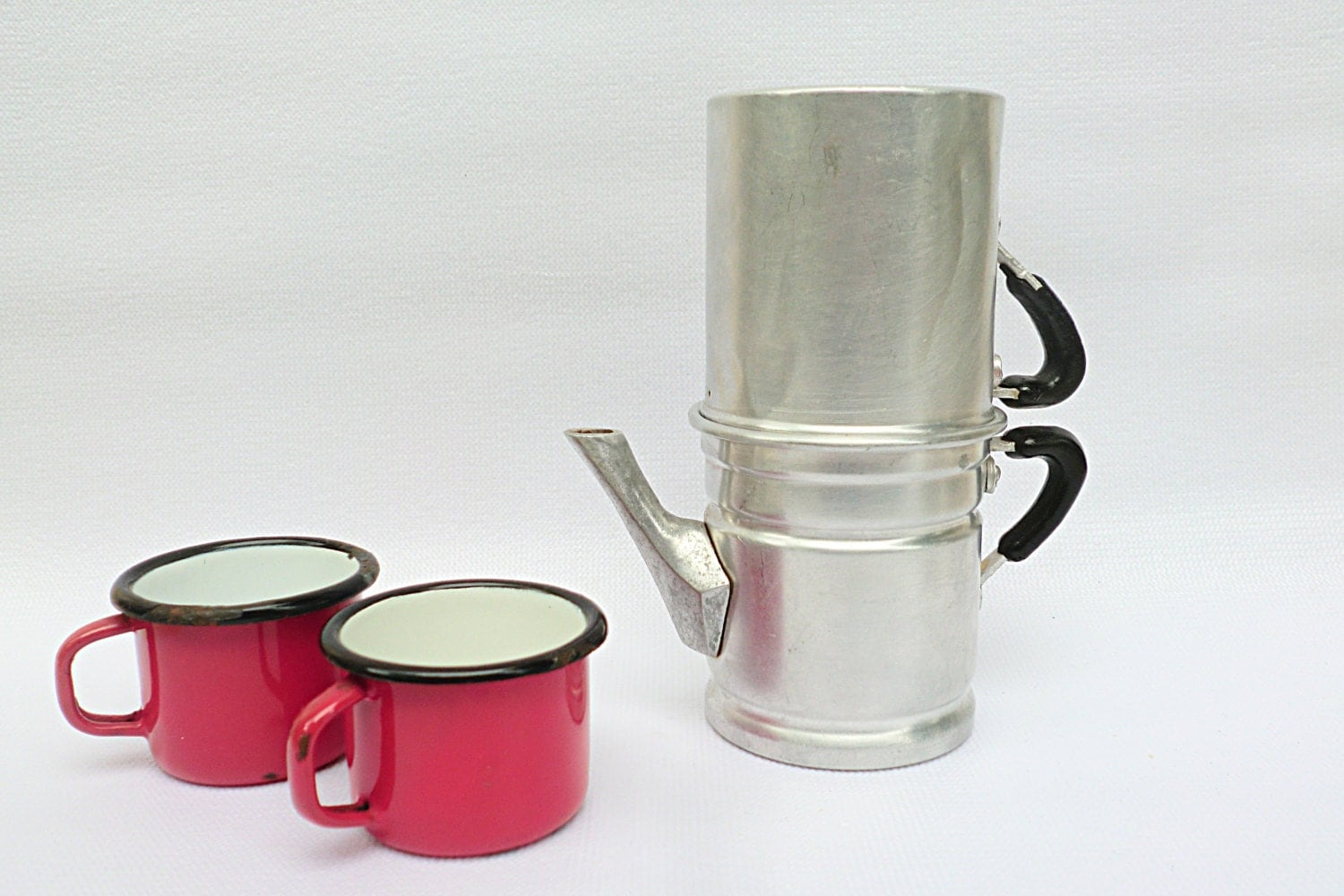 Vintage LUPA Neapolitan coffee pot made in Italy