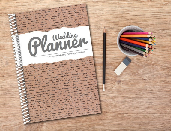 Wedding Planning Journal / Diary / Book DIY Plan Your Own