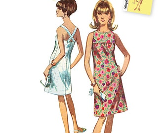 Simplicity Pattern 1101 Misses' Jiffy Dresses