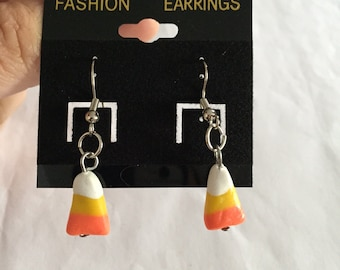 Cute Candy Corn Earrings!