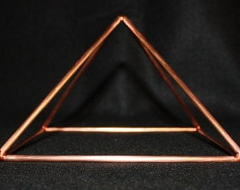 12 inch Copper Pyramid