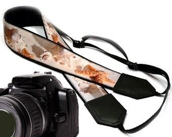 Starfish Camera Strap. Sea shells Camera Strap. Beach camera strap. Camera accessories. Gift ideas by InTePro