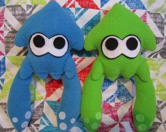 Splatoon squid plush