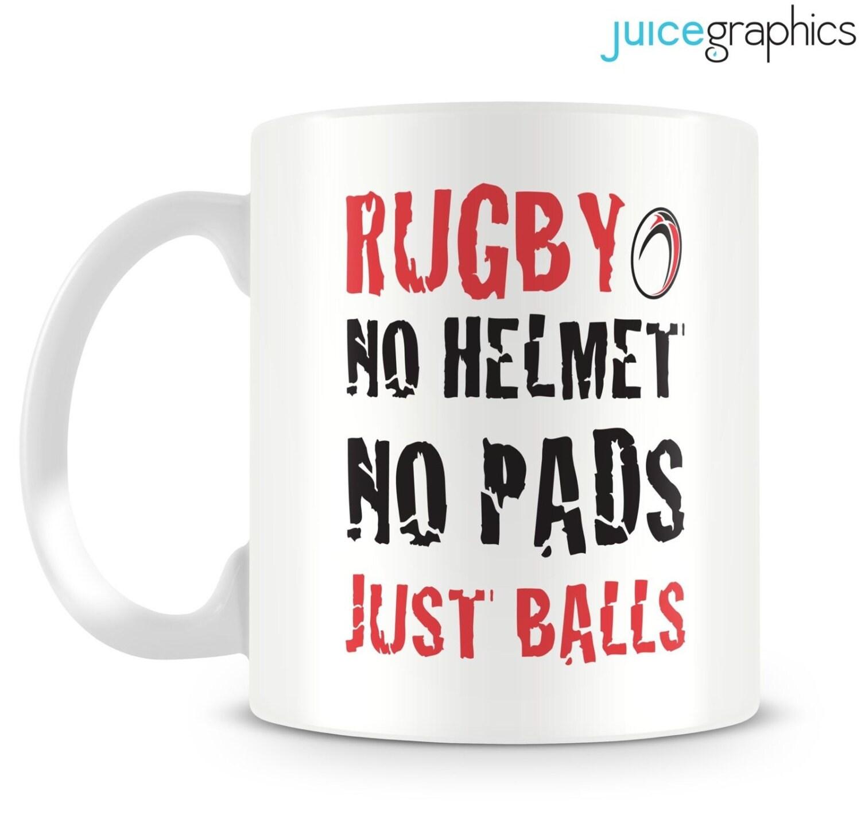 No pads no helmets...just balls
