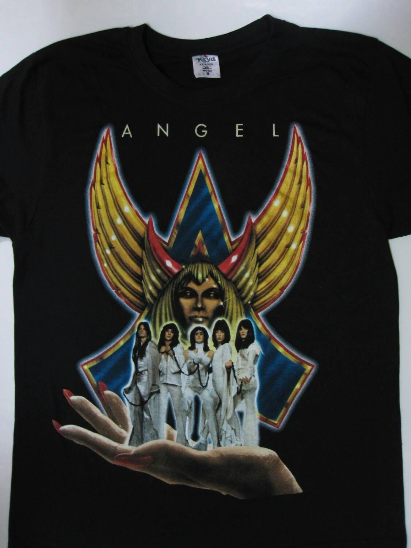 Angel helluva band t shirt s xxl top notch for Xxl band t shirts