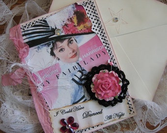 My Fair Lady Card, Audrey Hepburn, Vintage Style
