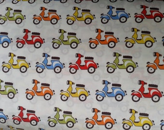 Vespa/ Scooter/ Motorcycle Fabric