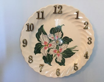 Adorable Flower Wall Clock -