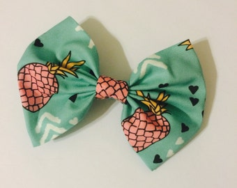 Funky Pineapples Hair Bow