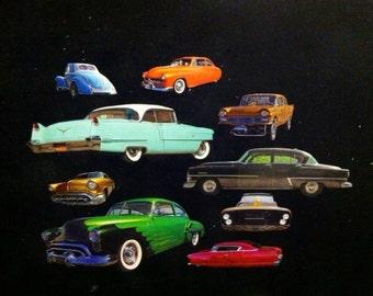 Classic Cars and Customs Car Magnets! Classic cars, customs, and more. 10 pieces!