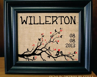 2nd Anniversary Cotton Gift - Wife Anniversary - Husband Gift - Housewarming Gift - Cotton Anniversary Gift 2nd year. (AED-W00)