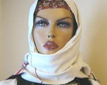 Antique beaded headband /Hungarian costume from Transylvania Kalotaszeg