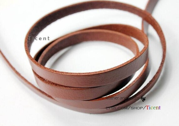 Leather strip band