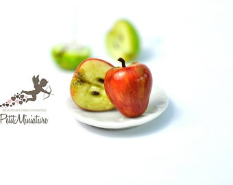 Apple Earrings-Studs Earrings-Jewelry-Food Fruit Collection