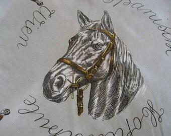 SALE! Spanish Lipizzan Horse Scarf
