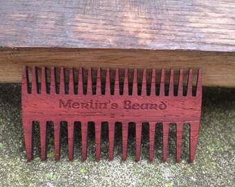 Merlin's Beard Comb - II - Double sided