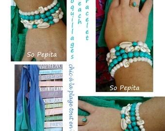 Bracelet shell Bohemia