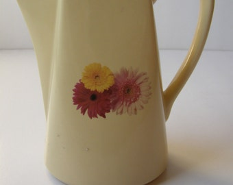 M.G China Marvelous Floral Pitcher