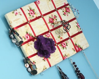 Custom Made French Memory Jewellery Boards, Fabric Jewelley Display Boards, Decorative Jewellery Boards, Jewellery Boards