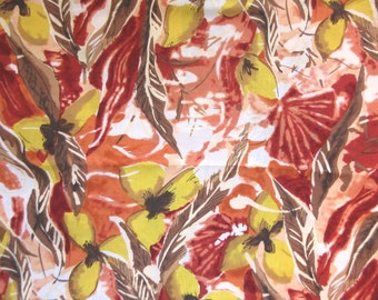Bold Floral Fabric - John Kaldor - Vintage OOP - Quilters Cotton -  Price per Yard