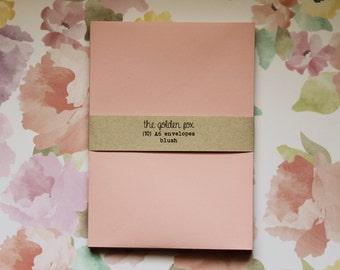 blush envelopes - A6 [10]