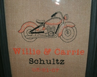 Personalized Motorcycle Bike Custom Made Any Color Any Design of your Choice... PRINT ONLY