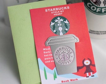Starbucks Stainless Steel Bookmark