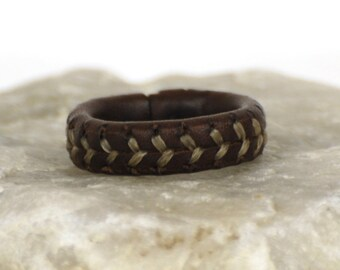 Hadar leather ring