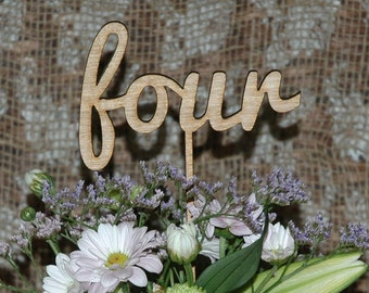 Wedding table numbers, Engagement table numbers, table numbers, DIY, Raw