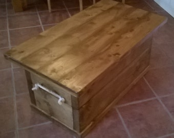 3 inch thick chunky rustic coffee table various sizes 052 for Large chunky coffee table