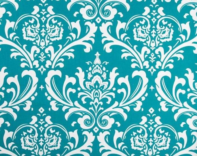 Turquoise valance
