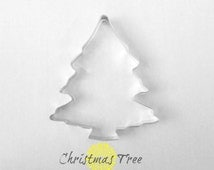 Christmas Tree Cookie Cutter / 5 inches  / Christmas Cookie Cutter