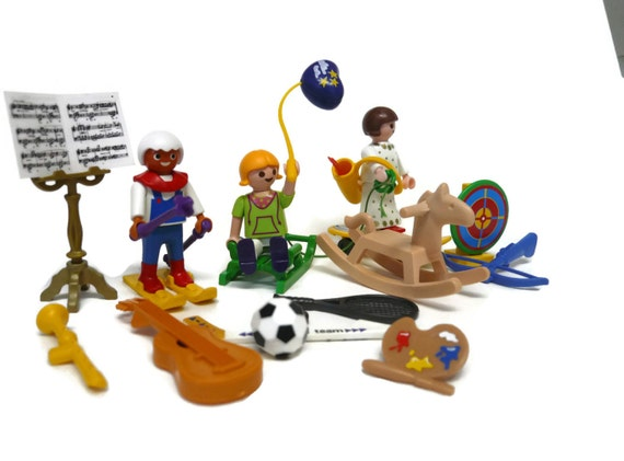 1990s Music Toys : Playmobil geobra figures outdoor sports musical