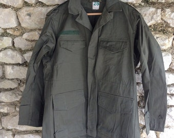 French marines fatigue jacket 1960s