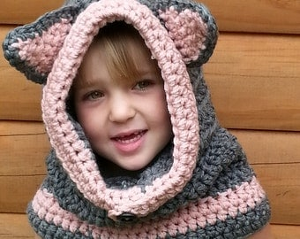 Kitten Hooded Cowl