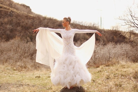 Angel Ballroom Dance Dress