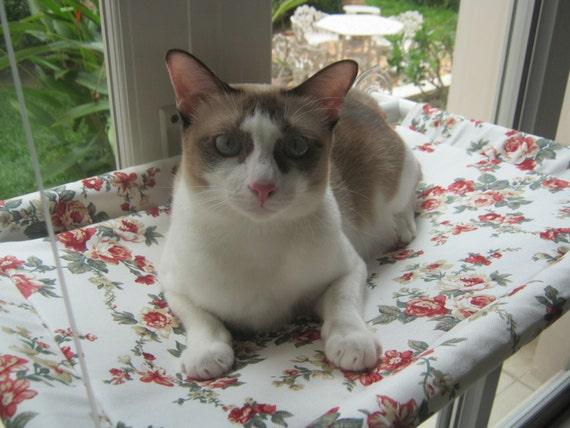 fenster katze bett cat bed cat cot katze h ngematte von byadissara. Black Bedroom Furniture Sets. Home Design Ideas
